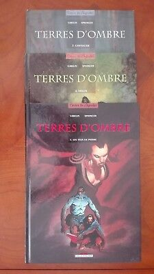 Cycle complet Terres d'Ombre tomes 1 à 3
