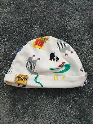 Joules 6-9 Months Baby Hat Animals