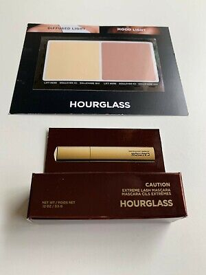 HOURGLASS Ambient Powder & Extreme Caution Mascara Samples, AUTHENTIC (SEE DESC)