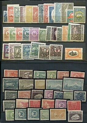 (FE439) Armenia and other classic stamps on 4 pages some reprints