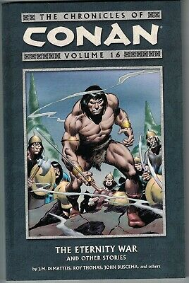CHRONICLES OF CONAN Vol 16 Eternity War and Other Stories TP TPB $16.95srp NEW