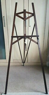 Vintage Early 20th Century Wooden Folding Easel by Hatherley Easel Patent