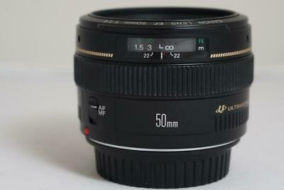 Canon EF 50mm f/1.4 USM Lens MINT++++ with Canon hood GREAT DEAL