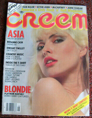 Creem Magazine – August 1982, Cover - Blondie