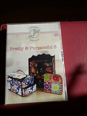 Cutting Craftorium 'Pretty & Purposeful 3' Svg Usb 30 Projects + 200  Papers