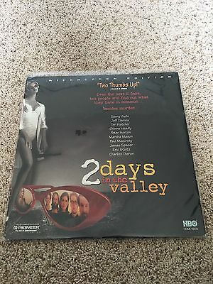 2 Days In The Valley Widescreen Laserdisc - Charlize Theron