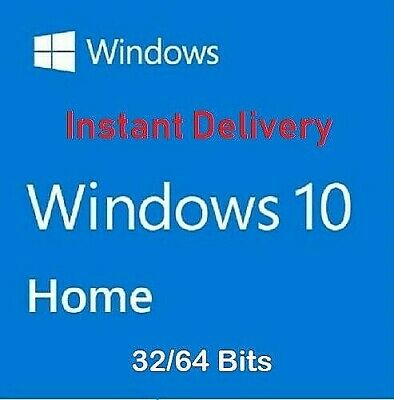 Microsoft Windows 10 Home Key 32 & 64Bit Activation Code License Windows 10 Home