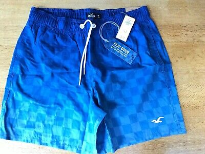 Mens Hollister Guard Fit Swim Shorts Trunks Size M Brand New