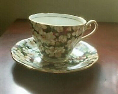 "Royal Standard "" Peach Tree"" -  Tea Cup & Saucer -  Bone China - England"