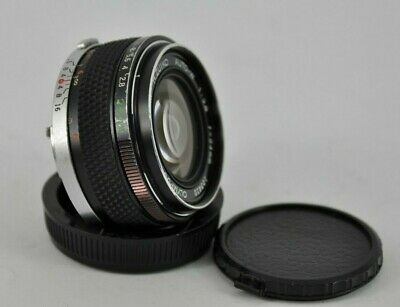 Olympus OM Zuiko Auto-W 24mm f2.8 MF om-system Lens from Japan