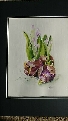 watercolor painting,abstract, original , 12x18 unframed