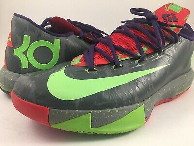 huge selection of ef9fe 95d52 NIKE 599424-008 KD Kevin Durant VI 6 Energy Mens Size 11.5 Basketball  Sneakers