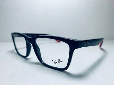 25570c1d52 AUTHENTIC RAY BAN RB 7025 5418 Grey Red Unisex s Eyeglasses 55mm 17 145