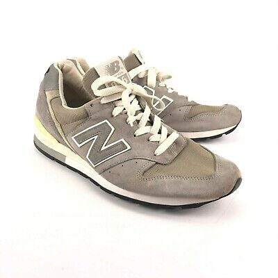 brand new 12d32 1b23d MENS NEW BALANCE 996 Made In USA Grey White Black Athletic Shoes M996