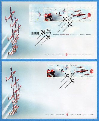 2006 Canada FDC First Day Cover #2158-2159a-2159b - Canadian Forces Snowbirds
