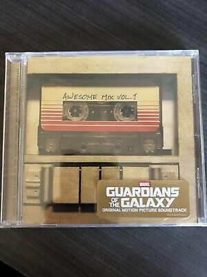 Soundtrack Guardians Of The Galaxy Awesome Mix Vol.1 Audio CD James Gunn
