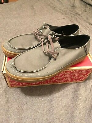 1fc66a6be51459 VANS RATA VULC SF PEWTER   LIGHT GUM Gray Shoes MEN S SIZE  12 - NWT ...