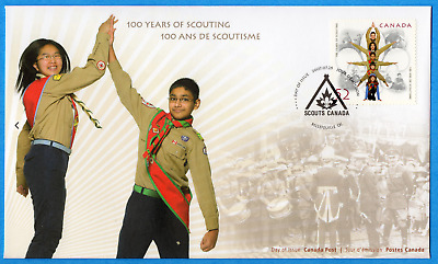 2007 Canada FDC First Day Cover #2225 - 100 Years Of Scouting
