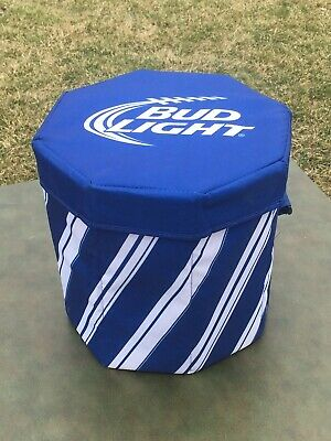 BUD LIGHT COOLER Beer Blue 24 Cans Insulated Bag