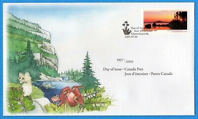 2007 Canada FDC First Day Cover #2223 - Terra Nova National Park