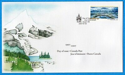 2007 Canada FDC First Day Cover #2224 - Jasper National Park