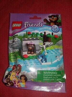 LEGO Friends 41046 5-12 Series 5 Brown Bear/'s Bears River New Unused Sealed