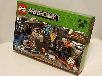 LEGO MINECRAFT THE End Portal 559pc Set 21124 Brand New/Factory Sealed in  Box