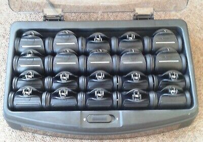 20x ENRAPTURE ERHS6000 Extremity HEATED ROLLERS Hair curlers 2 SIZES Used Once
