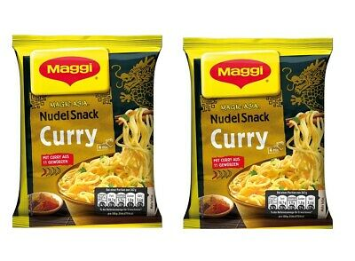 MAGGI Magic Asia Nudel Snack Curry 2 packung