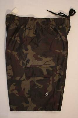 b26338fdf804f Mens Swim Trunks XL Camo Board Shorts Swimsuit Camouflage Cargo Pocket Lined  New