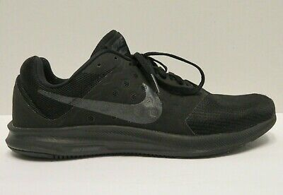 82b0c51c9d13 Nike Downshifter 7 Women s Size 9.5 Black Lace-up Running Shoes 852466-004
