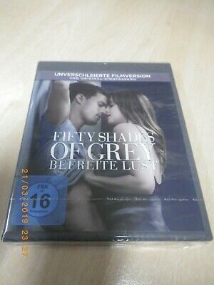 Blue Ray - FIFTY SHADES OF GREY - Befreite Lust - neu OVP