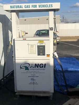 Angi 2 hose CNG dispenser