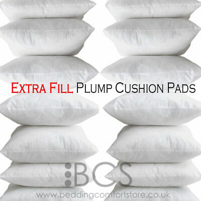Extreme Fill Plump Hollowfibre Cushion Pads Inners Fillers Scatters