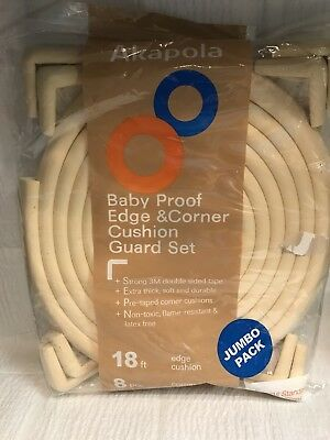 Akapola Baby Proof Edge & Corner Cushion Guard Set JUMBO PACK