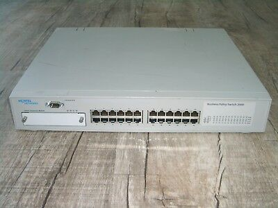 Nortel Business Policy Switch 2000 24 Port