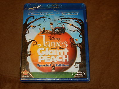 Brand New James And The Giant Peach Special Edition Blu-Ray/dvd W/disney Rewards