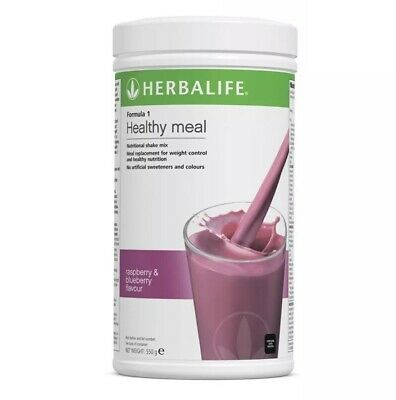 Herbalife Formula 1 Healthy Meal Raspberry And Blueberry 550g