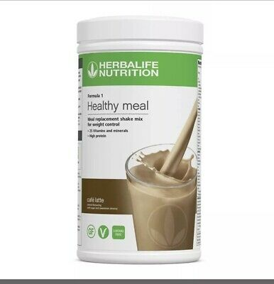 Herbalife Formula 1 Healthy Meal Cafe Latte 550g