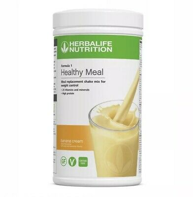 Herbalife Formula 1 Healthy Meal Banana Cream 550g