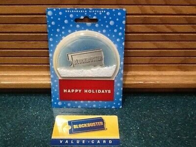 RARE 2008 BLOCKBUSTER Gift Cards & (1) Blockbuster Value Card NO VALUE ON CARDS