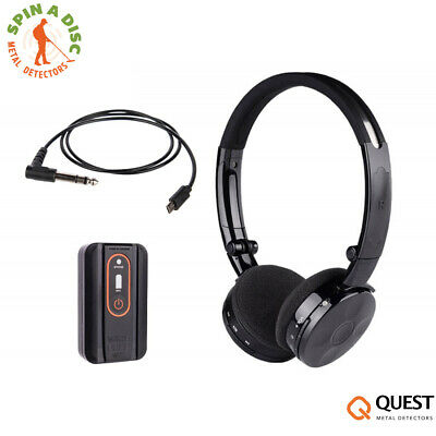Quest Wirefree  Lite Headphones & Transmitter For All Metal Detectors