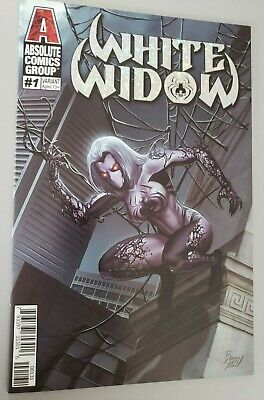 White Widow #1 - Cover C - Benny Powell!  NM/NM+ TYNDALL - CGC IT!