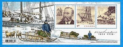 2004 Canada #2027 Otto Sverdrup Greenland Norway Souvenir Stamp Sheet Mint-NH