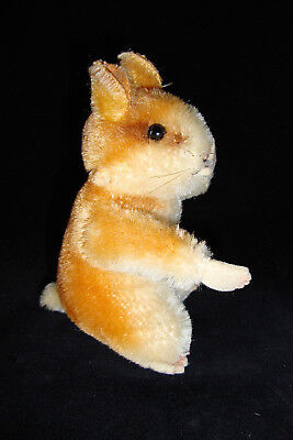 "Vintage Steiff Hamster ""Goldie"" 4.5 Inch Size 1950-1960's Era with Movable Head"