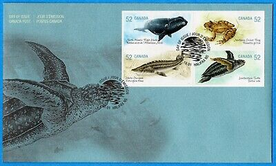 2007 Canada FDC First Day Cover #2230-33 - Endangered Species