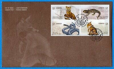2006 Canada FDC First Day Cover #2174-2177 - Endangered Species