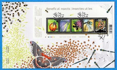 2007 Canada FDC First Day Cover #2238 - Beneficial Insects