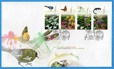 2006 Canada FDC First Day Cover #2145a-45d - Gardens