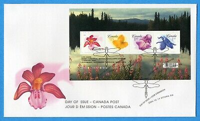 2006 Canada FDC First Day Cover #2194 - Flowers
